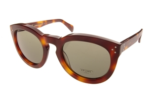 Celine CL41801/S O5L PREPPY IN BROWN TORTOISESHELL RETRO SUNGLASSES