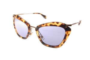 Picture of Miu Miu 0MU10N/S 7SO/OA2 TORTOISESHELL