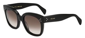 Picture of Celine CL41805S 807 New Audrey BLACK