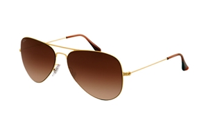 Picture of Ray-Ban RB 3513 Aviator Flat metal 149/13