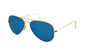 Picture of Ray-Ban RB 3025 mirror aviator 112/17