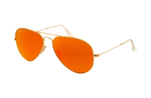 Picture of Ray-Ban RB 3025 mirror aviator 112/69