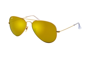 Picture of Ray-Ban RB 3025 mirror aviator 112/93