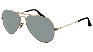 Picture of Ray-Ban RB 3025 mirror aviator W3277