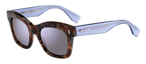 Picture of Fendi FF0025/S 7OKIH Brown marble front with crystal blue arms
