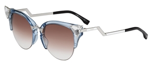 Picture of Fendi FF0041/S 9EQNF IRIDIA BLUE CATSEYE