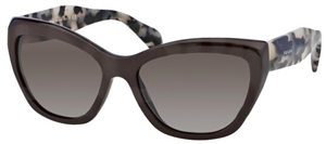 Picture of Prada POEME SPR02QS DHO4M1 BROWN