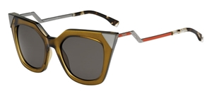 Picture of FENDI  FF0060/S MSW IRIDIA OLIVE CATSEYE