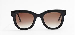 thierry lasry sexxxy 101 black glossy , mazzucchelli acetate and titanium,luxury wayfarer,streetstyle, vintage,retro,sunglasses