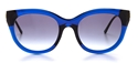thierry lasry arbitrary 384 transparent blue, mazzucchelli acetate and titanium,luxury butterfly,streetstyle sunglasses