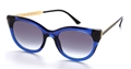 thierry lasry arbitrary 384 transparent blue, mazzucchelli acetate and titanium,luxury butterfly,retro,,vintage,streetstyle sunglasses