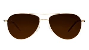 a90bedc6222 Oliver peoples Benedict OV 1002 s 5035N9 gold aviator with crystal ...