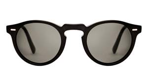 Oliver Peoples Gregory Peck OV5217S 1031/P2 MATTE BLACK POLARIZED RETRO INSPIRED SUNGLASSES