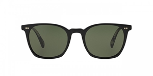 Picture of Oliver Peoples L.A. Coen SUN OV5297/SU 1492R5 Black mineral glass lenses