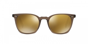 Picture of Oliver Peoples L.A. COEN SUN OV5297/SU 1494W4 buff  Gold Mirrored Lenses