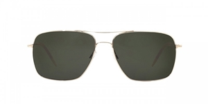 OLIVER PEOPLES CLIFTON GOLD G-15 POLARIZED UNISEX AVIATOR CLASSIC STYLE SUNGLASSES,SHADES,LUNETTES,SONNENBRILLE