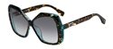 Picture of Fendi FF0092 D59 VK Dark Tortoiseshell with aquamarine detailing
