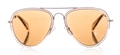 stylish celine cl41032/s gh5 gold taupe aviator with polarized lenses, classic style, pilot style sunglasses, shades