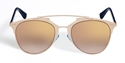 CHRISTIAN DIOR,DIOR,REFLECTED,MIRROR,ROSE GOLD,BLEU,BLUE,3210R,PANTOS,DOUBLE BRIDGE,SUNGLASSES,SHADES,LUNETTES,GAFAS