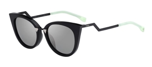 Picture of FENDI FF0118/S AQMUE ORCHIDEA BLACK
