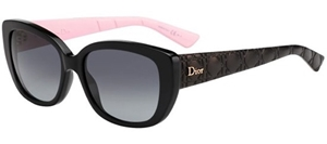Picture of Dior LADY 2R GRUHD Black Acetate black leather
