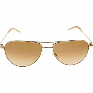 Oliver Peoples Benedict Gold frame with Amber cristal photochromatic lenses OV100/S 524251 LUXURY AVIATOR SUNGLASSES