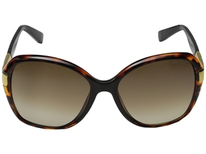 Picture of JIMMY CHOO ALANA/S Brown Havana oversized Butterfly sunglasses EYFJD