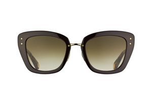 Picture of Marc Jacobs MJ 506/S 0NR/CC Cocoa Brown Gold light havana Rounded Retro Catseye