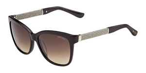 Picture of JIMMY CHOO CORA/S FAY/D8 DEEP VIOLET LIGHT GOLD