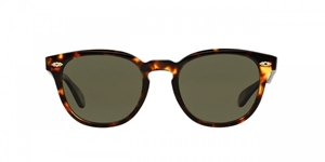 OLIVER PEOPLES SHELDRAKE PLUS OV5315/SU 1405N9 VINTAGE TORTOISE POLARISED RETRO SUNGLASSES