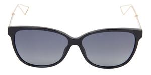 Dior Confident 2 QFE/HD Black gloss and rose gold female sunglasses frame