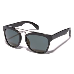 eae192562d Yohji Yamamoto YY5003 914 Navy Double Bridge reconstructed wayfarer style  sunglasses
