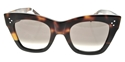 Celine CL41090s AEAZ3 catherine Dark Havana with Black Flash, oversized,Square,statement,bold,streetstyle