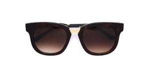 thierry lasry arbitrary 38 DARK TORTOISESHELL, mazzucchelli acetate and titanium,luxury wayfarer,streetstyle sunglasses