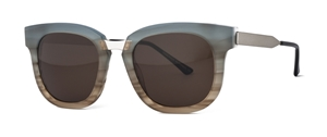 thierry lasry arbitrary 870 gren/blue ombre, mazzucchelli acetate and titanium,luxury wayfarer,streetstyle sunglasses
