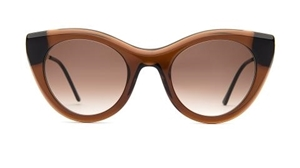 thierry lasry Perky 2255 translucent brown, mazzucchelli acetate and gold titanium,luxury,retro, catseye,streetstyle sunglasses