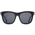 stella mccartney sc0001s-001 large black havana style sunglasses, classic,timeless,enviromentaly friendly,Notting Hill,London,fashion,streetstyle,unisex,mens,womens,lunettes
