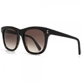 stella mccartney sc0001s-003 large havana style sunglasses