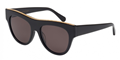 stella mccartney sc0017s-001 large black falabella sunglasses, classic,timeless,enviromentaly friendly,Notting Hill,London,fashion,streetstyle,unisex,mens,womens,lunettes