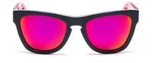 WESTWARD\\LEANING, PIONEER 29,WR-PI--FS--X2 ,SHINY SLATE NEON PINK,ACETATE,FLUORESCENCE PINK , RECLAIMED NEON PINK MIRROR INLAY,CLASSIC,WAYFARER,UNISEX,GAFAS DE SOL,LUNETTES, SAN FRANCISCO,JAPAN,JUSITN BEIBER, JAMES FRANCO,CELEBRITY,MILEY CYRUS,JESSICA ALBA,MADONNA