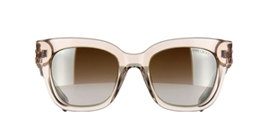 JIMMY CHOO, NUDE,TRANSPARENT,WAYFARER,LUXURY,GLAMOROUS,FASHION,FEMININE,JEWELLED,GAFAS DE SOL,LUNETTES,MAGGIES ,EYEMAGGIES