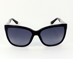 JIMMY CHOO, CORAS,CORA/S,FA3HD,BLACK, ACETATE,HAVANA,SILVER,GLITTER,FEMALE,FEMININE,FASHION,CLASSIC,RETRO,square,ladies,LUXURY, stylish, lunettes,sonnarbriller