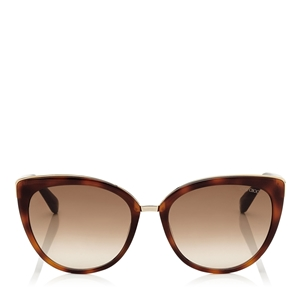 JIMMY CHOO,GOLD,TORTOISESHELL,DANAS,DANA/S,LUXURY,LUNETTES,SHADES,RETRO,FASHION,FEMALE,FEMININE,STYLISH,CLASSIC