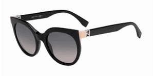 Picture of Fendi FF 0128/S The Fendista 29A/EU Shiny black/pink