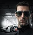Porsche Design exclusive P8678 mark webber titanium unique quick release oversize aviators,kardashian,jenner,depp,celebrity,unisex,large,lunettes,sonnenbrille,azure grey,smoke