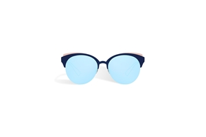 CHRISTIAN DIOR, DIORAMA CLUB LUXURY LIGHTWEIGHT MIRRORED TRI COLOUR , CANNAGE DETAIL, CLUBMASTER, SUNGLASSES, SHADES, GAFAS DE SOL, LUNETTES DE SOLEIL , 墨镜, SONNENBRILLE,ZONNEBRIL