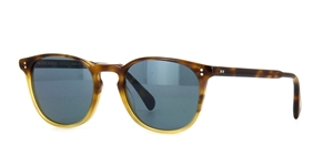 OLIVER PEOPLES FINLEY ESQ. OV5298SU 1454/09 GRADIENT TORTOISE WITH BLUE PHOTOCHROMIC  ROUND RETRO STYLE SUNGLASSES