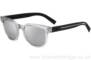 Picture of Dior Homme Blacktie 183S Md4 transparet grey with matte black sides