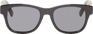Picture of DIOR HOMME BLACKTIE196/S KZ0/HD BLACK WAYFARER STYLE