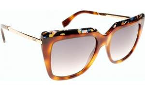 Picture of FENDI FF0087/S CUA/9C GALASSIA IN DARK HAVANA WITH BLUE MARBLE